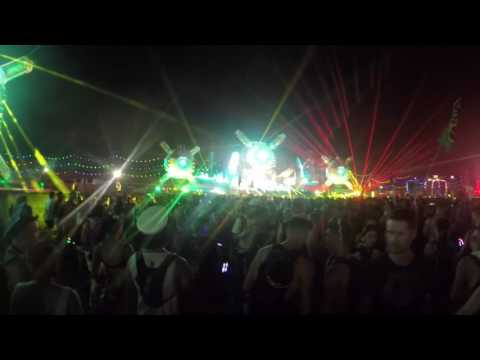 Space Jesus B2B Liquid Stranger B2B Bleep Bloop live @ EDC Las Vegas 2017