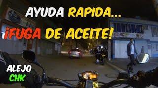 Video Ayudando Motero - Moto con fuga de aceite - Akt Nkd VER HD download MP3, 3GP, MP4, WEBM, AVI, FLV April 2018