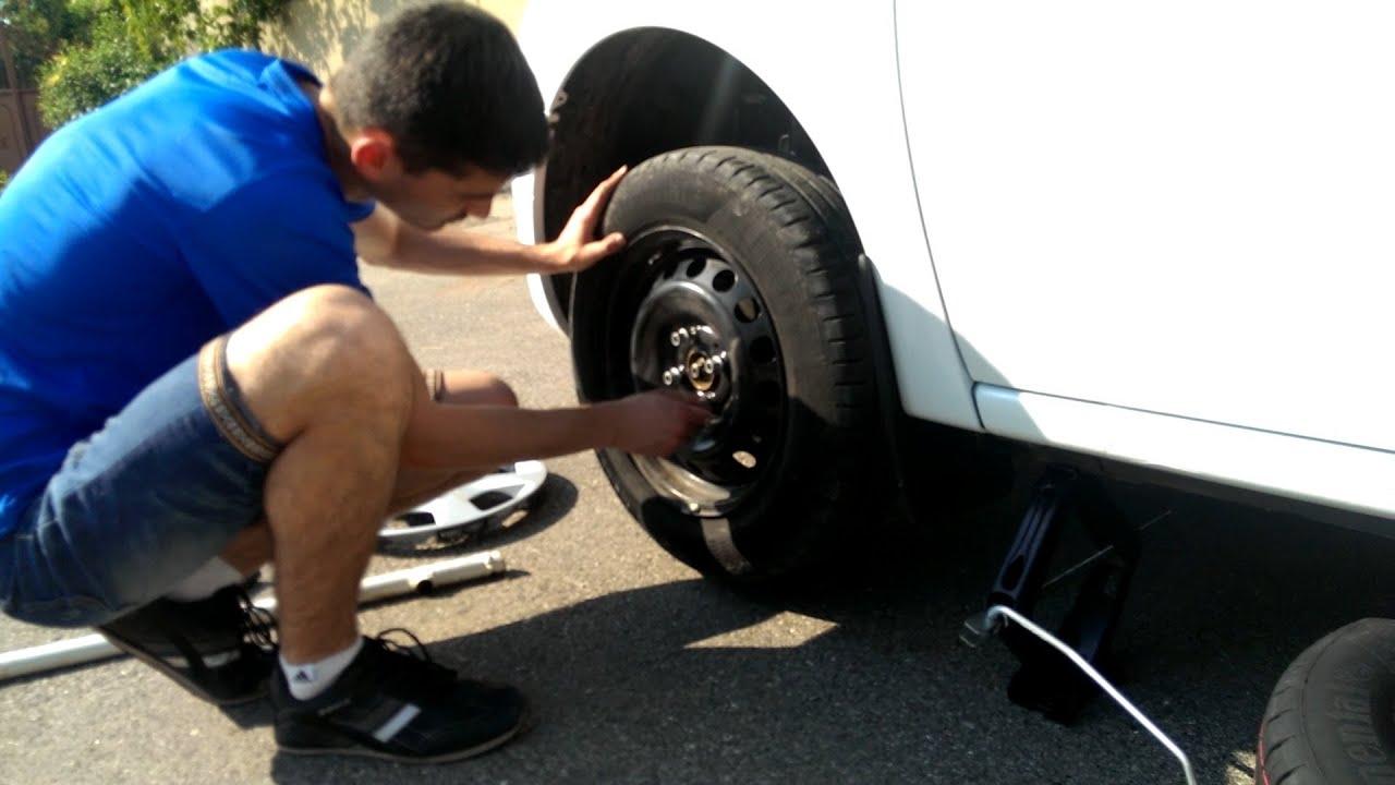 Правильное снятие и установка колес \ как правильно заменить колесо (PitStopMD)