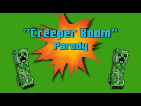 """""""Creeper Boom"""" MINECRAFT Parody Of Mask Off By Future"""