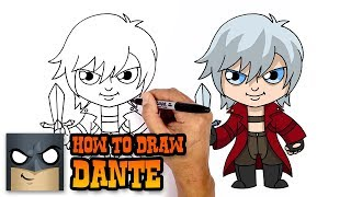 How to Draw Dante | Devil May Cry