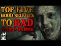 Top Five Good Sequels to Bad Video Games