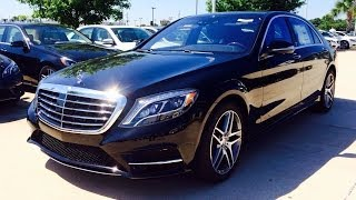 2014/2015 Mercedes Benz S Class: S550 Full Review / Exhaust / Start Up