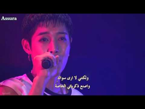 Kim Hyun Joong (SS501) -  Because I`m Stupid [Arabic Sub]