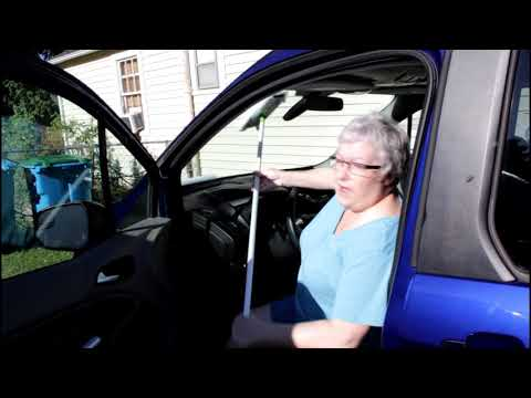 Easiest way to clean inside windshield