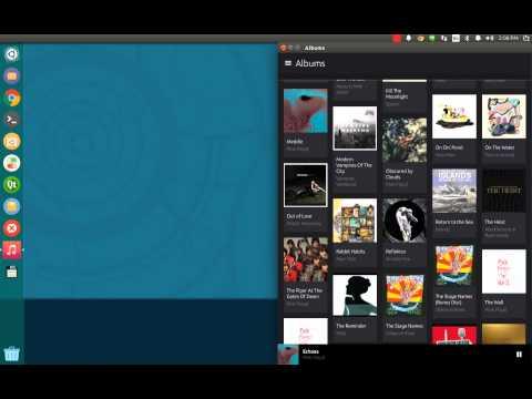 Install Version 2.0 of the Ubuntu Music App on Ubuntu 14.10 Desktop