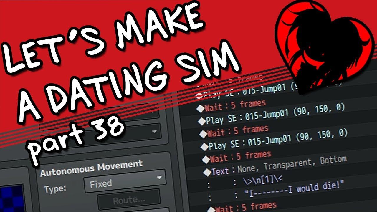 ♥LET'S MAKE A DATING SIM♥ - Part 38, Day 11 (RPG Maker MV)