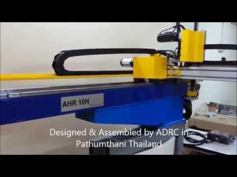 หุ่นยนต์อุตสาหกรรม / AHR Robot / Thai Industrial Robot