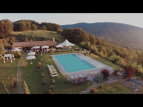 Chic Villa Wedding in Italy (Tuscany - Umbria) - Wedding Film Full Hd