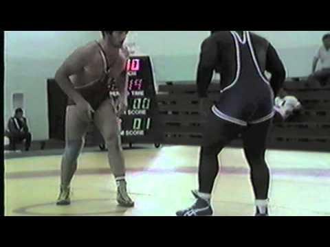 1988 Espoir World Cup: 130 kg Murabi Valiev (USSR) vs. David Jones (USA)