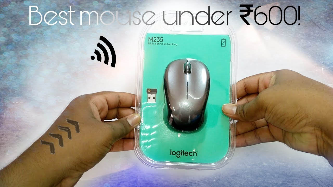Logitech M235 Wireless Mouse Unboxing Review Youtube