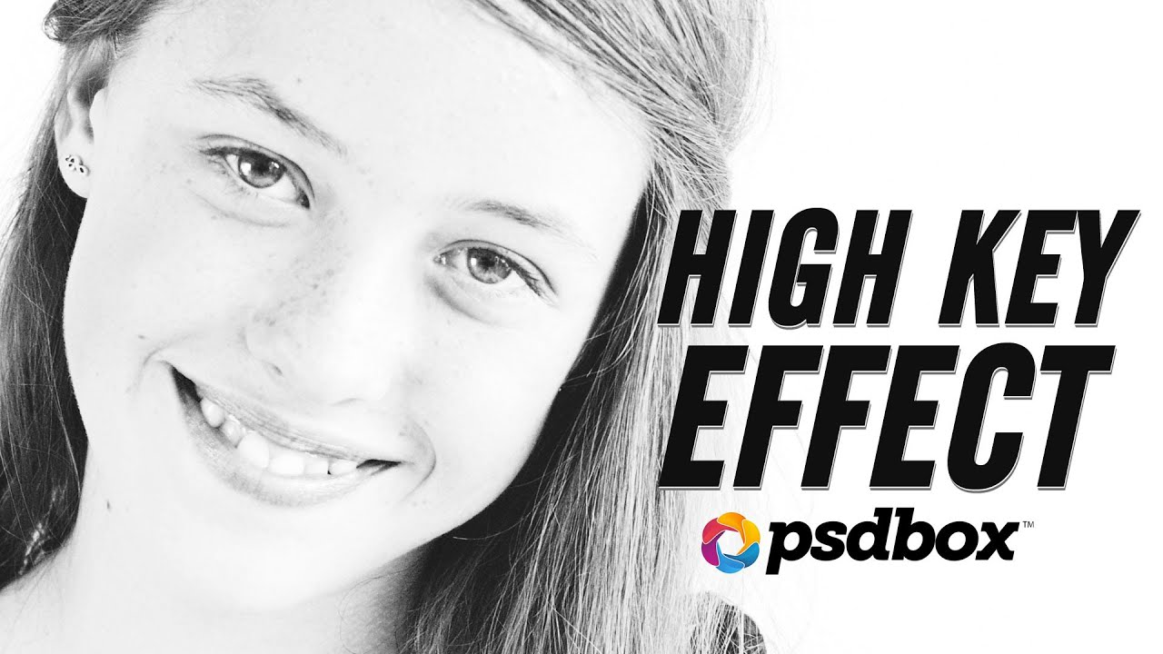 High Key Effect using Channels + Free PS action - YouTube