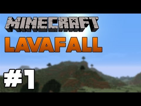 Minecraft - LavaFall SMP (01): Into chunks unknown