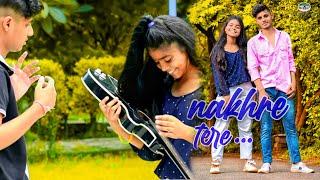 Nakhre Tere (Official cover song) Nikk | Priyanka | Ritik | Sanjana | Urban legends | Cute story ||