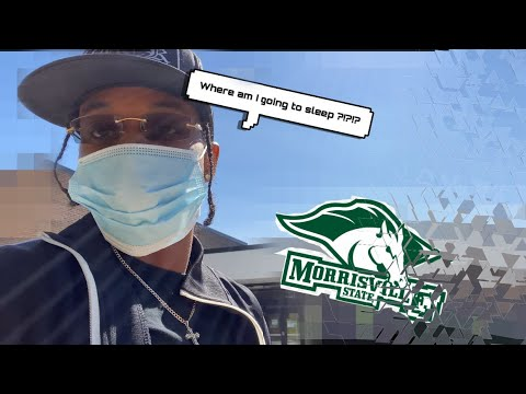 VLOG#3 - TRIP TO MORRISVILLE STATE COLLEGE !?!?