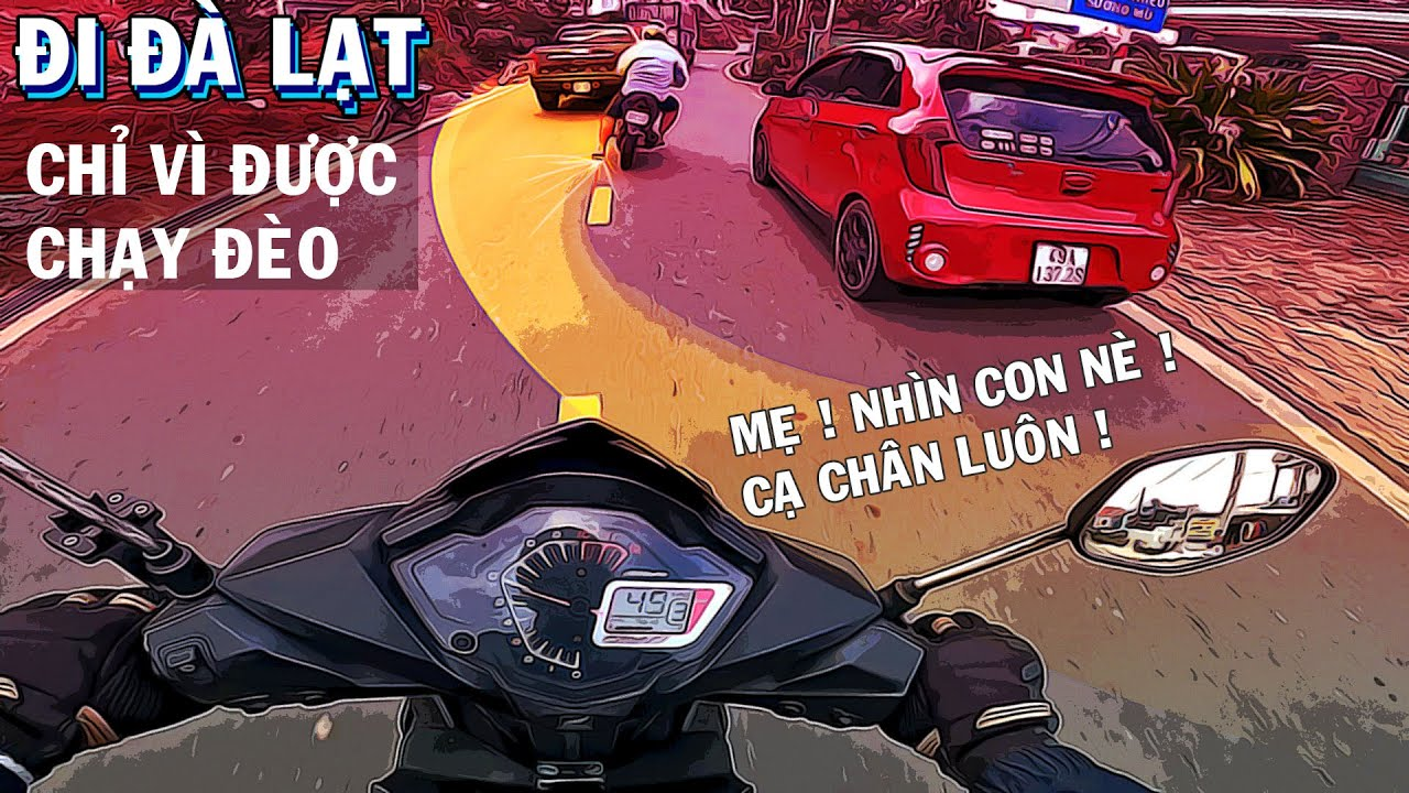 PHẦN2| Vẫn thèm chạy đèo cùng Sơn Mập| Đà Lạt quá đã| BÉ BÚT| Winner PVD.