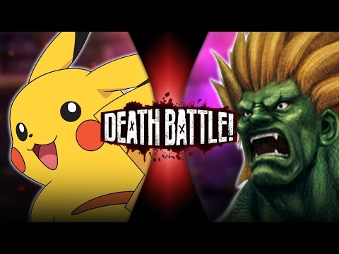 Pikachu VS Blanka (Pokémon VS Street Fighter) | DEATH BATTLE!