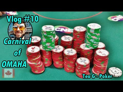 Poker at TheEX (CNE) Toronto | 20/40 Limit Omaha | Poker Vlog #10