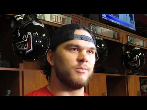 Gridiron Blitz: Atlanta Falcons Jake Matthews post-practice presser 1.20.17