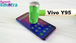 Vivo Y95 Screen Scratch Proof Glass Test
