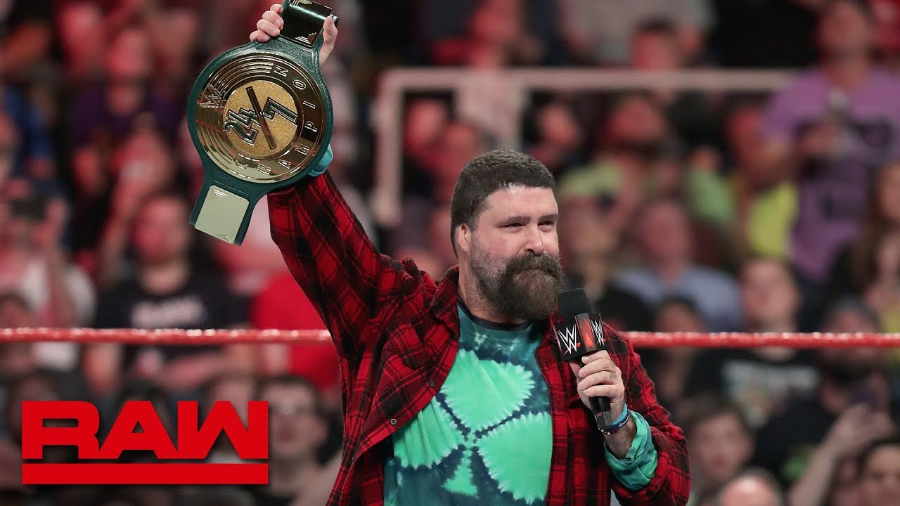 Mick Foley debuts the 24/7 Championship: Raw, May 20, 2019 image