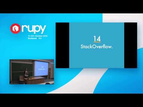 RuPy 13: The best programmer is a teacher / Floor Drees