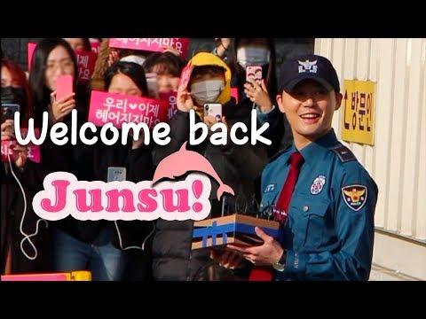 Welcome Back #Junsu!   The Struggle to see #Xia #Junsu