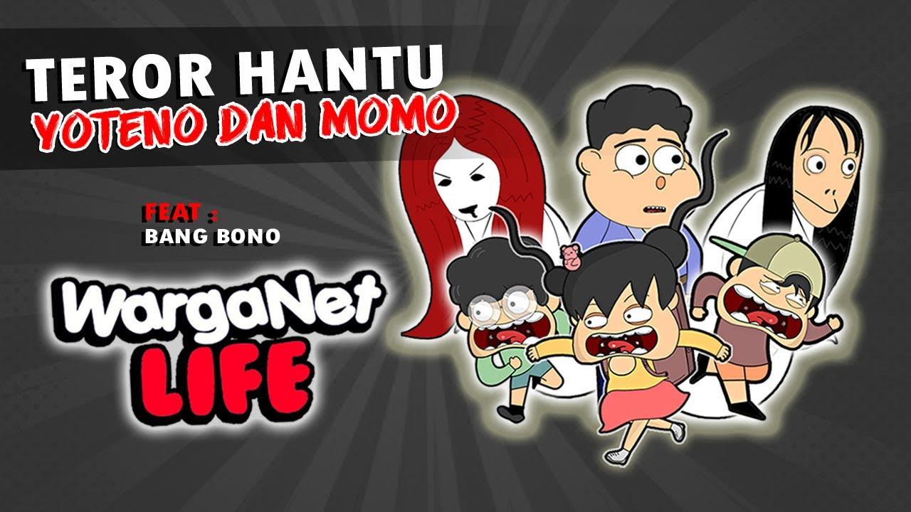 VC HANTU YOTENO  - ENJEL FEAT @Warganet Life Official  - ANIMASI HOROR KARTUN LUCU