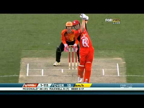 Melbourne Renegades v Perth Scorchers - Match Highlighs