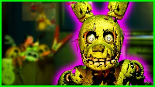 THE PURPLE MAN IS DEFEATED... - Five Nights at Freddy's 3 Nightmare Aggressive Mode COMPLETE 4 Stars