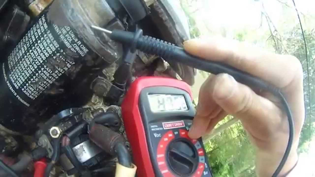 Johnson 90 hp v4 troubleshoot #5 - bad solenoid - YouTube