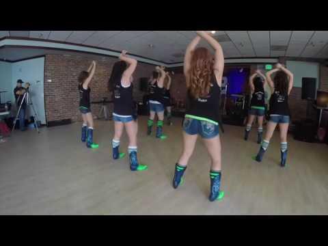 Flatliner Line Dance Boot Boogie Babes @ColeSwindell @DierksBentley