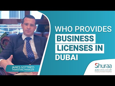 Who provides business licenses in Dubai? Shuraa Business Setup