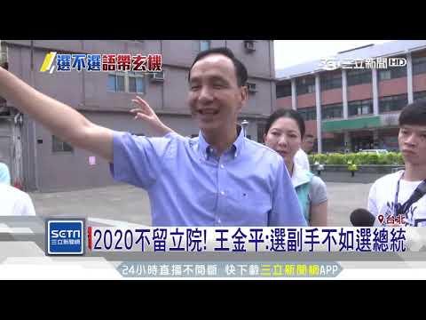2020不留立院!王金平:選副手不如選總統|三立新聞台
