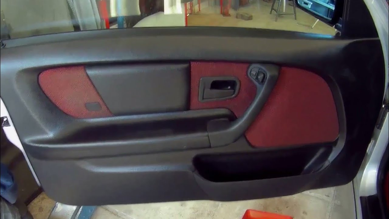 Bmw 316 3 E36 Compact Door Panel Removal Youtube