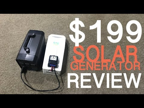 EasyFocus 200Wh Solar Generator,   Review and DIY Upgrade