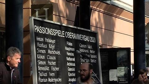 Livestream von Passionsspiele Oberammergau