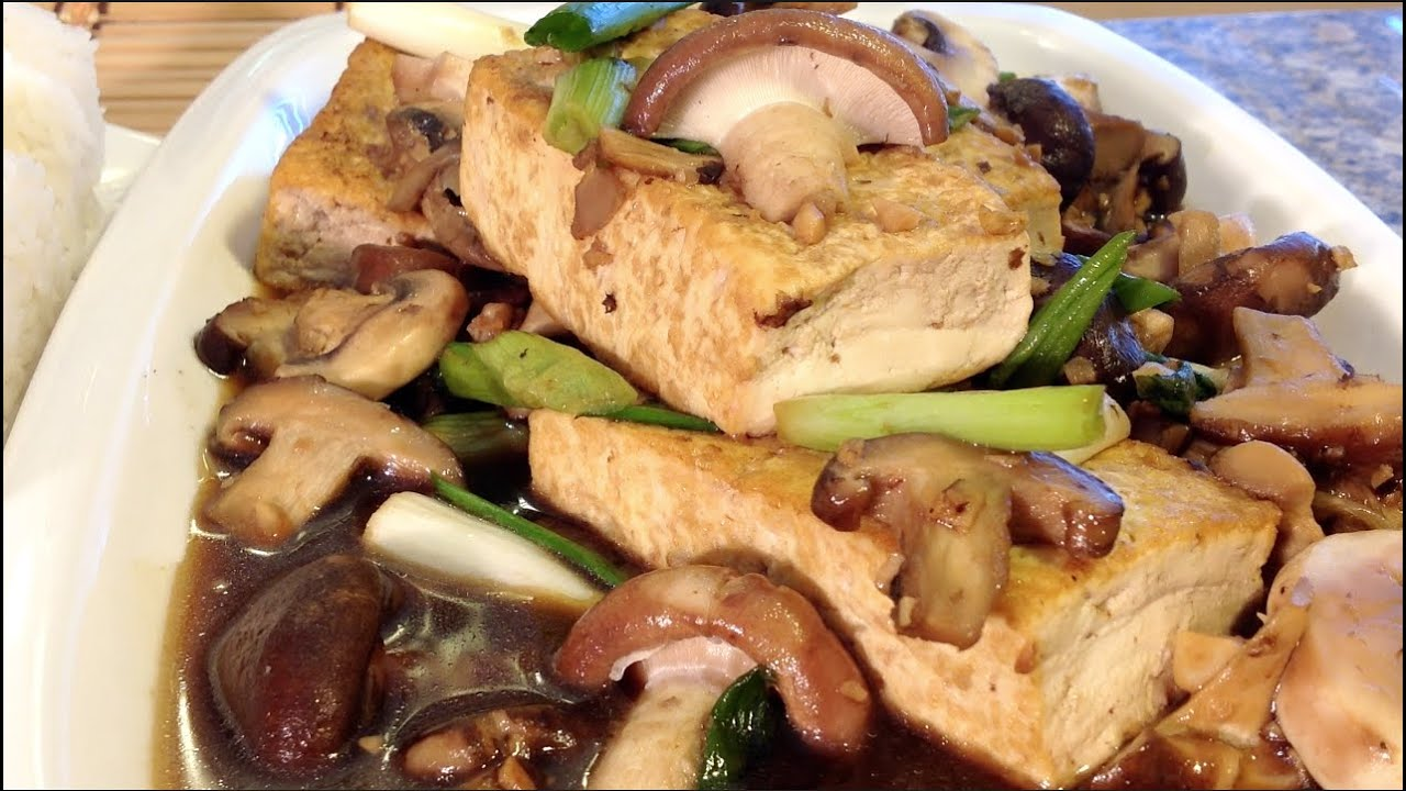 How to cook braised tofu with mushrooms vegan asian food recipes how to cook braised tofu with mushrooms vegan asian food recipes youtube forumfinder Images