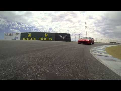 The One with the 2014 Corvette Stingray at Laguna Seca