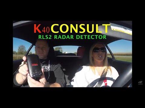 K40 Consult W/ RLS2 Radar Detector