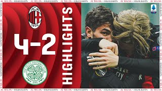 Highlights | AC Milan 4-2 Celtic | Europa League Matchday 5