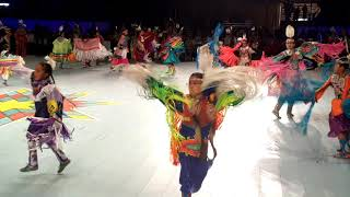 GATHERING OF NATIONS POW WOW 2019   Day 2  : Junior Girls Fancy Shawl Dance