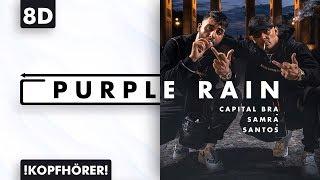 8D AUDIO | Capital Bra, Samra & Santos - Purple Rain