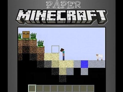 Jogo Paper Minecraft