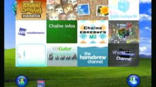 xp wii custom menu
