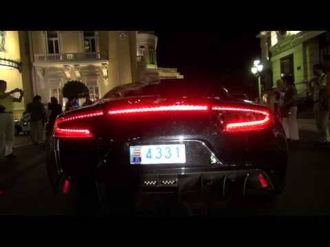 Aston Martin ONE-77 SOUNDS in Monaco!!
