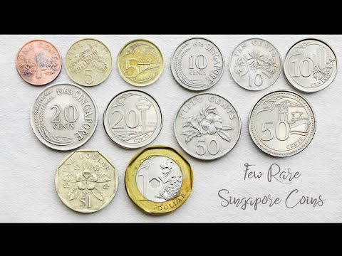 Few Rare Singapore Coins Collection ( Cents & Dollar ) - Complete Set | Singapore ( Singapura )