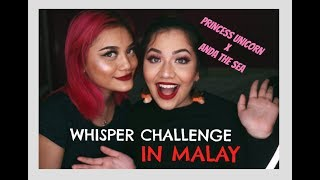 Gambar cover MALAY Whisper Challenge || feat Prince$$ Unicorn!
