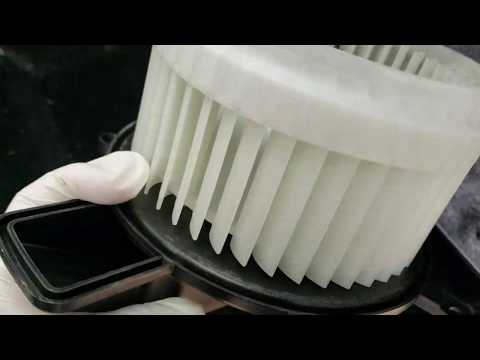 2012 Jeep Grand Cherokee  Heater/A/C Blower Noise Replacement