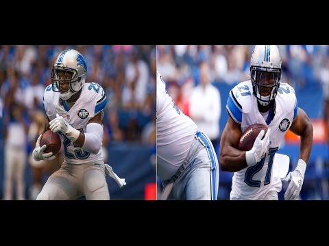 Theo Riddick & Ameer Abdullah vs Colts (NFL Week 1 - 2016) | NFL Highlights HD